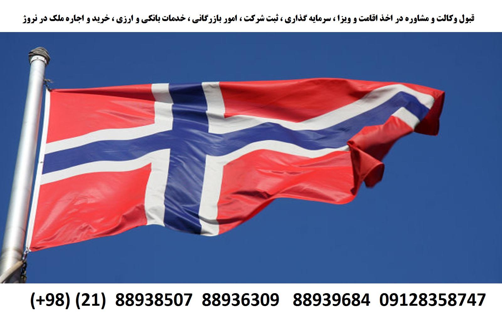 اقامت ، اخذ ویزا ، ثبت شرکت ، سرمایه گذاری در نروژ (1)