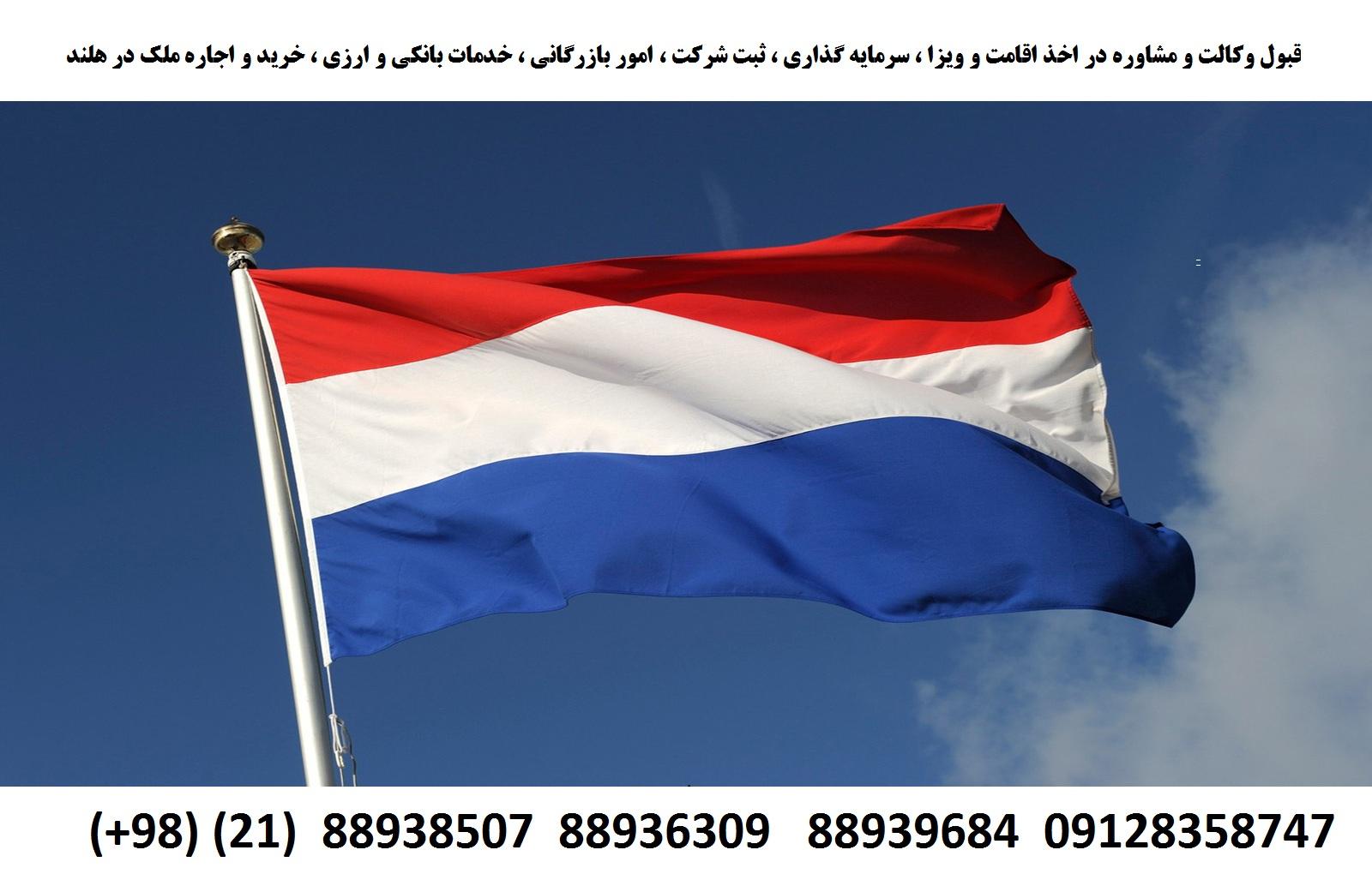 اقامت ، ویزا ، ثبت شرکت ، سرمایه گذاری در هلند (1)